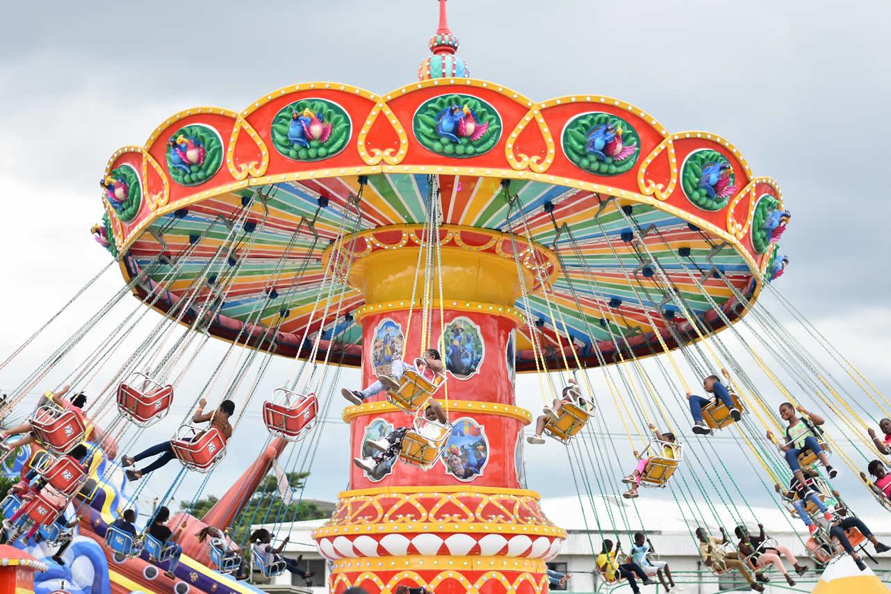 Garden City Amusement Park Roller Coaster